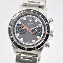 Tudor Heritage Chronograph Grey 42mm Auto Steel