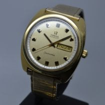 Omega pre-owned Automatic 39mm Gold Plexiglass