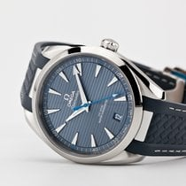 Omega Seamaster Aqua Terra Steel 41mm Blue No numerals United States of America, Virginia, Williamsburg