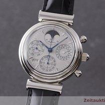 IWC Da Vinci Perpetual Calendar Weißgold 39mm Silber Deutschland, Chemnitz