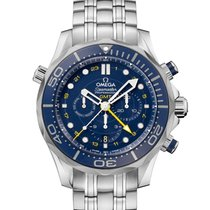 Omega Seamaster Diver 300 M Steel 44mm Blue