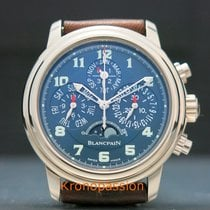 Blancpain Léman Fly-Back White gold 38.0mm Blue Arabic numerals United States of America, Florida, Boca Raton