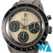 Rolex Daytona Steel 37mm Black Arabic numerals