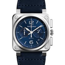 Bell & Ross BR 03-94 Chronographe Steel 42mm Blue