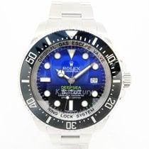 Rolex Sea-Dweller Deepsea Steel 44mm Blue No numerals Singapore, Singapore