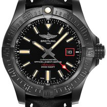 Breitling Avenger Blackbird 44 new Automatic Watch with original box V1731110-BD74-435X