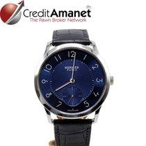 Hermès Slim d'Hermès Steel 40mm Blue Arabic numerals
