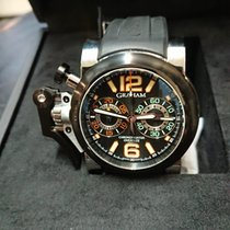 Graham Chronofighter 2OVAV.B13A New Steel 46mm Automatic