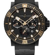 Ulysse Nardin pre-owned Automatic Black Sapphire crystal