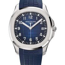 Patek Philippe Aquanaut White gold Blue Arabic numerals United States of America, New York, New York