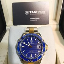 TAG Heuer WAK2120.BB0835 Gold/Steel 2014 Aquaracer 500M 41mm pre-owned