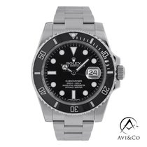 Rolex Submariner Date Steel 40mm Black No numerals United States of America, New York, New York