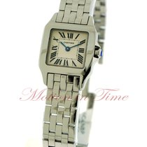 Cartier Santos Demoiselle Steel 28.2mm Silver Roman numerals United States of America, New York, New York