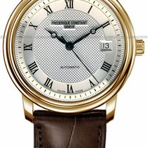 Frederique Constant Classics Automatic Gold/Steel Silver United States of America, New York, Brooklyn