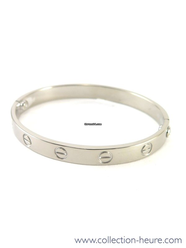 Cartier White Gold Love Bracelet 18k With S For 5 154 From A Trusted Er On Chrono24