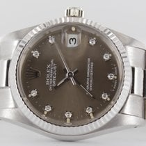Rolex Datejust Weissgold Diamond Full Set LC 100 #114