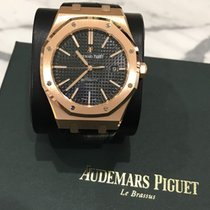 Audemars Piguet Royal Oak Selfwinding Rose Gold Black Dial