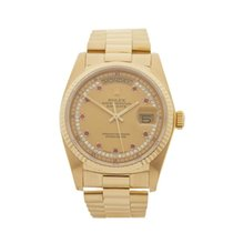 Rolex Day-Date 18k Yellow Gold Gents 18038 - W4260