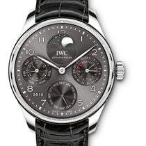IWC IW503301 Portuguese Perpetual Calendar - White Gold on...