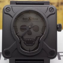 Bell & Ross Br01-92 Airborne Skull Limited Edition Mens 46mm...