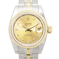 Tudor Heritage 18k Gold Steel Gold Automatic 92413-62433-10DI-CH