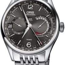Oris Artelier Calibre 113 Steel 43mm Grey Roman numerals