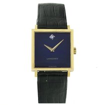 Longines 18K Gold Diamond Dress Watch, Ref. 4043