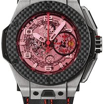 Hublot Big Bang Ferrari Titanium Transparent Arabic numerals United States of America, Iowa