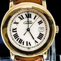 Cartier Zilver 33mm Quartz 1800 1 tweedehands Nederland, 'S-Hertogenbosch