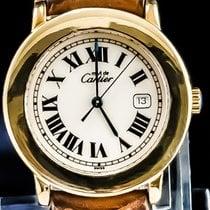 Cartier 33mm Quartz tweedehands Ronde Solo de Cartier Champagne