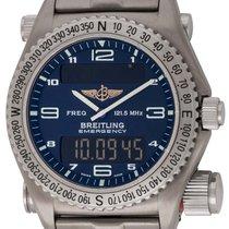 Breitling : Emergency :  E56321 :  Titanium