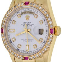 Rolex Day-Date 36 Yellow gold 35mm White No numerals United States of America, Texas, Dallas