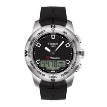 Tissot 43mm Quartz new T-Touch II Black