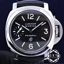 Panerai 44mm Manual winding 2010 pre-owned Special Editions Black