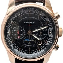 Bremont Rose gold Automatic Black 43mm pre-owned