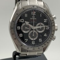 Omega Speedmaster Broad Arrow Steel 44mm Black Arabic numerals