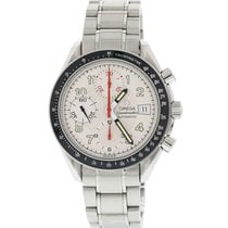 Omega Speedmaster Date Steel 39mm White United States of America, New York, New York