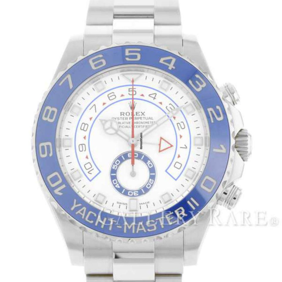 hot sale online 577ef 579fa Rolex Yacht-Master II Ceramic Bezel Steel 44MM