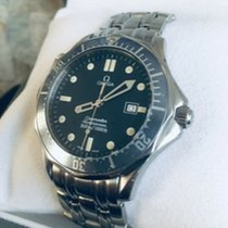 Omega Seamaster Diver 300 M Staal 41mm Blauw Geen cijfers
