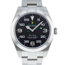 Rolex Air King Steel 40mm Black United States of America, Georgia, Atlanta