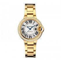 Cartier Ballon Bleu 33mm новые Автоподзавод Часы с оригинальными документами и коробкой WJBB0002
