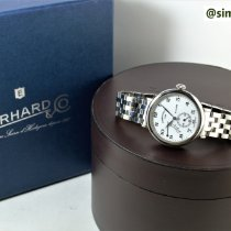 Eberhard & Co. Steel 39.5mm Manual winding 21017 pre-owned