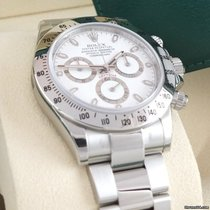 Rolex Daytona Staal 40mm Wit
