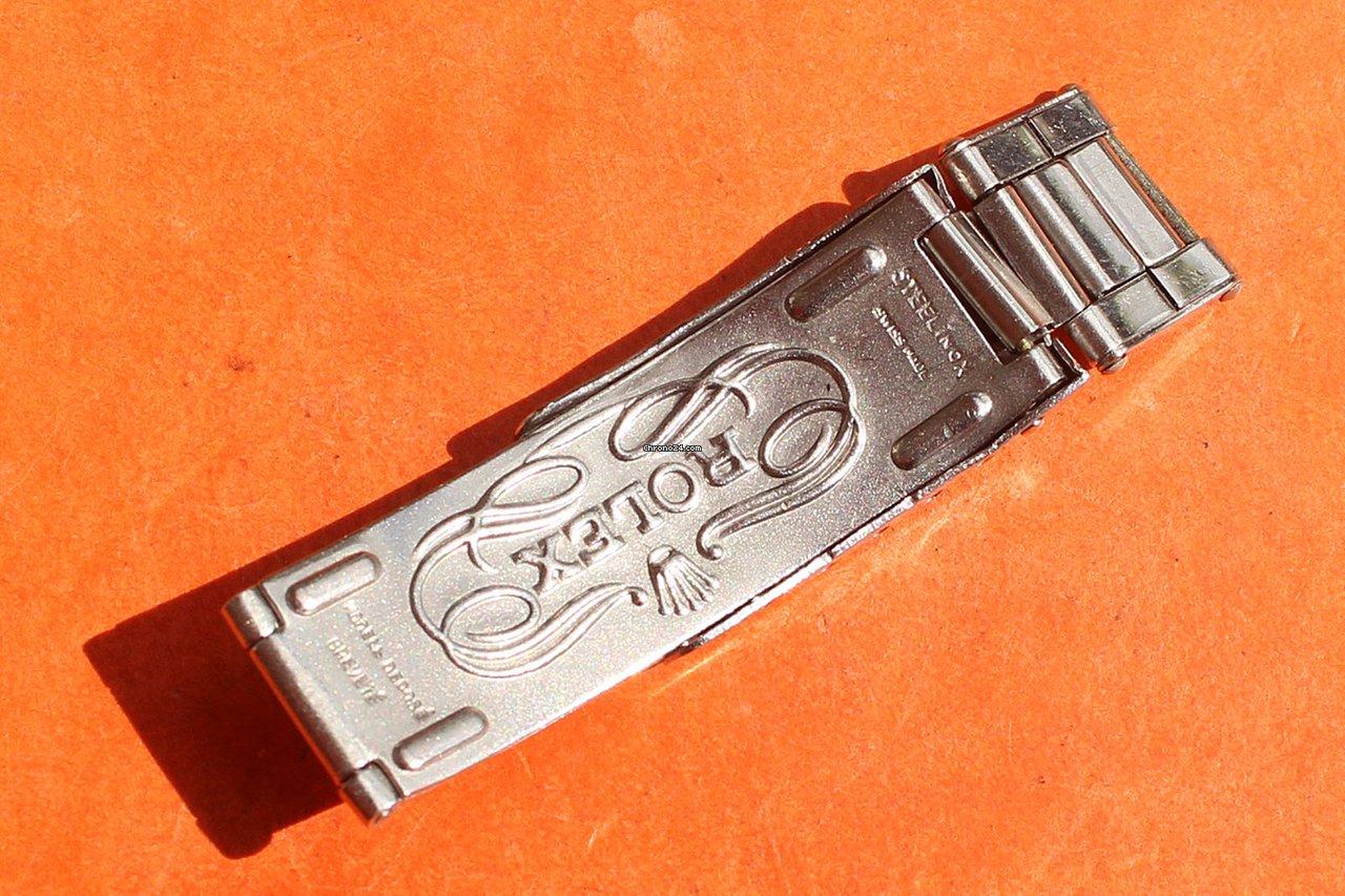 Rolex Big Logo 1959 Bracelet 7205 6635 19mm Daytona Sold On Chrono24
