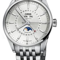 Oris Artix Complication Steel 42mm Silver
