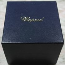 Chopard vintage leather watch box blu complete outercase...