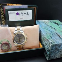 Rolex 2002 ROLEX DAYTONA 116523 2-TONE WITH ORIGINAL GREY DIAL...