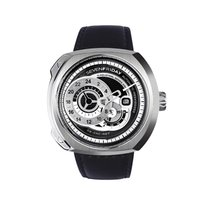 Sevenfriday new Automatic Small Seconds Only Original Parts 53.2mm Steel Mineral Glass