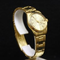 Rolex Midsize Junior Oyster Perpetual Date – 18K Solid Yellow...