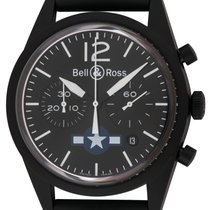Bell & Ross BR V1 new Automatic Chronograph Watch with original box and original papers BRV126-BL-CA-CO/US